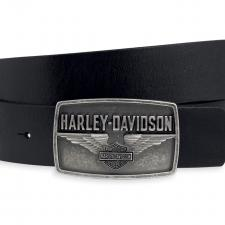 "Gürtel ""Winged Bar & Shield Logo Buckle"" 97794-13VM"