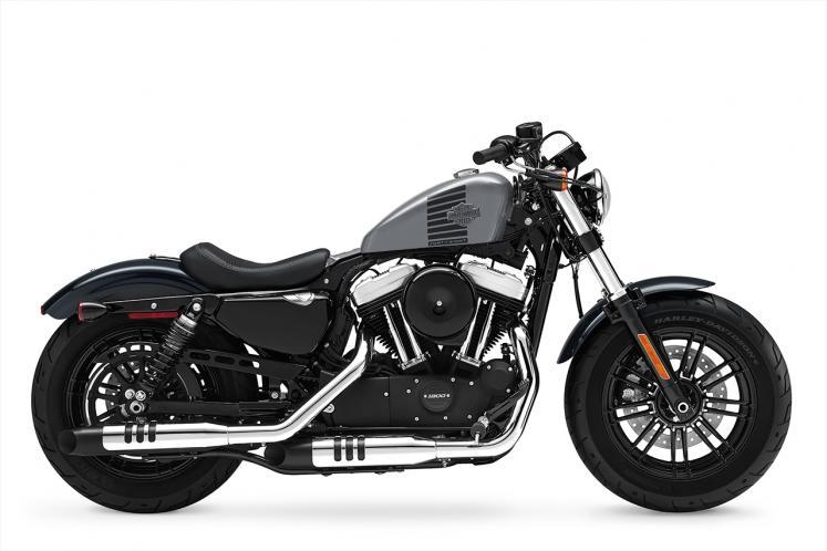 Harley Davidson Forty Eight  Cancun Blue Flake