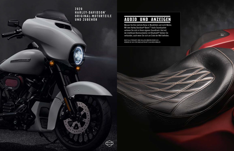 Harley-Davidson Parts & Accessories Katalog 2020