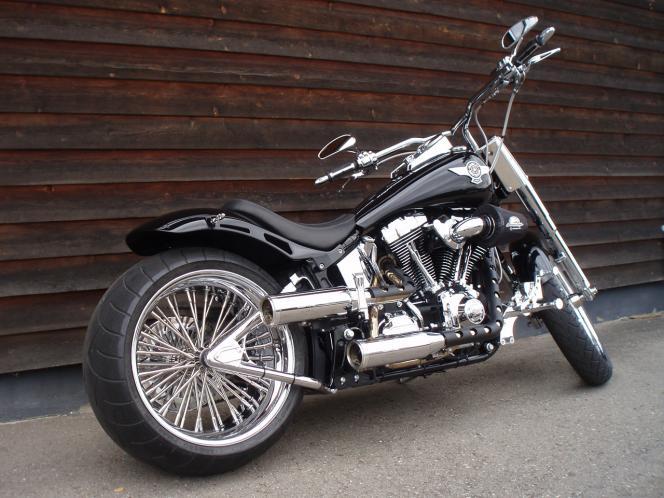 Softail - Fat Chrome - Fat Boy Special Umbau / Custom Bikes
