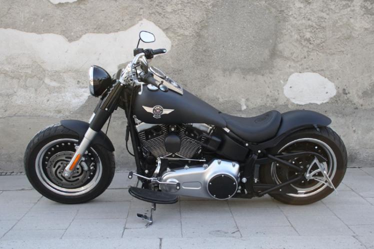 softail flstfb fat boy special umbau fatty custom bikes motorr der website house. Black Bedroom Furniture Sets. Home Design Ideas