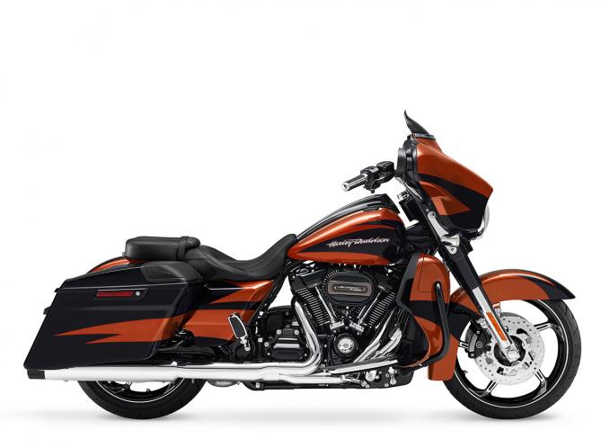 sunburst orange starfire black 2017 cvo harley davidson flhxse cvo street glide 2017. Black Bedroom Furniture Sets. Home Design Ideas