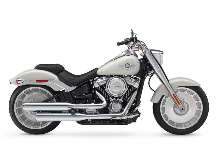Industrial Gray 2018 Softail Harley Davidson Flfb Fat Boy