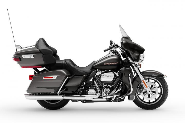 Silver Flux / Black Fuse / 2019 - Touring - Harley-Davidson ... on